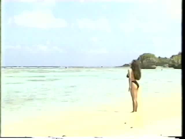 【かとうれいこ】伝説の爆乳アイドルの懐かしのイメージビデオ
